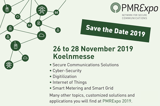 PMRExpo2019 Save the Date!